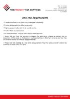 Syria Visa Requirments